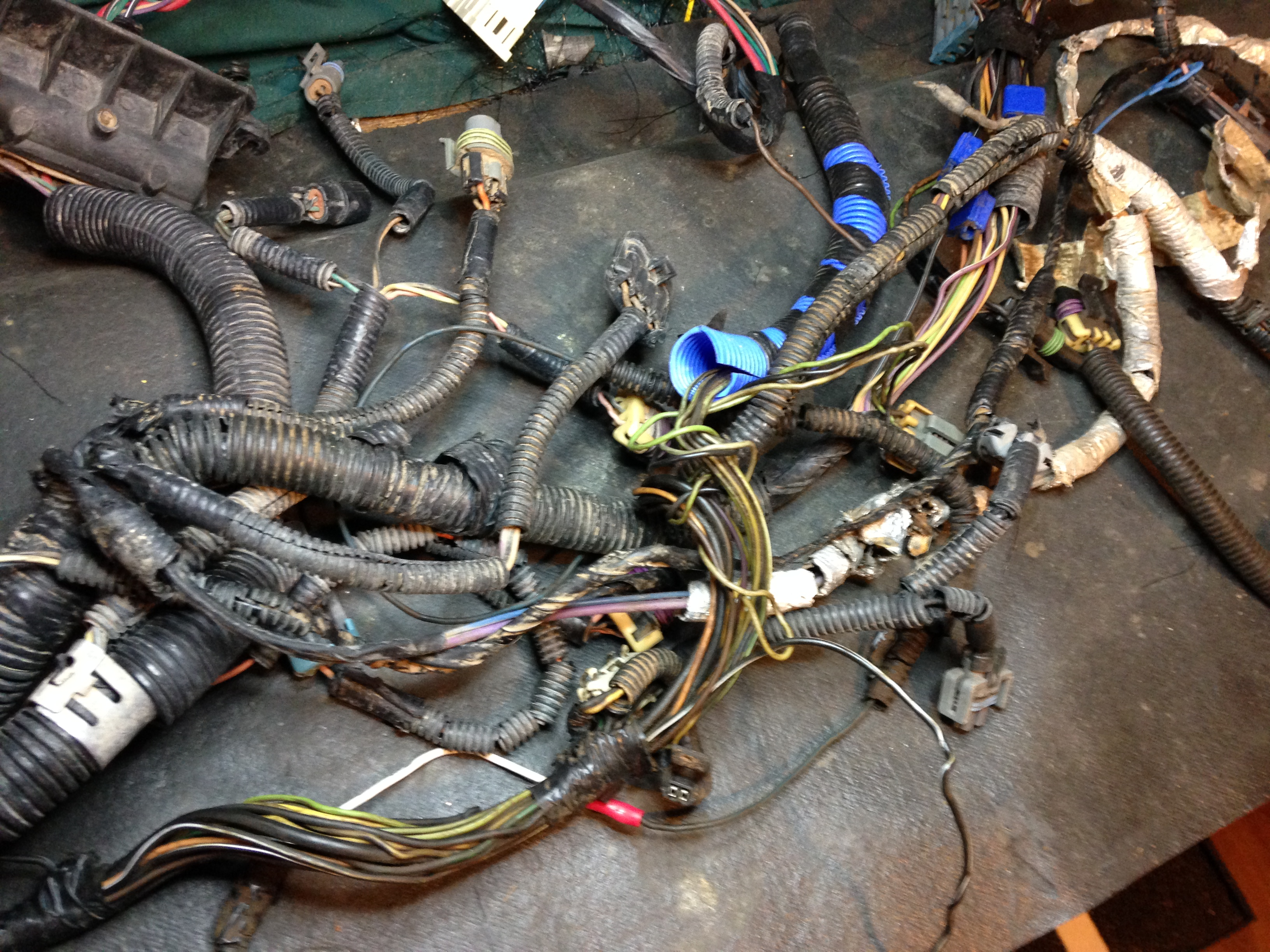 1998 dodge durango wiring harness wiring harness restoration, repair, rebuilding, customizing